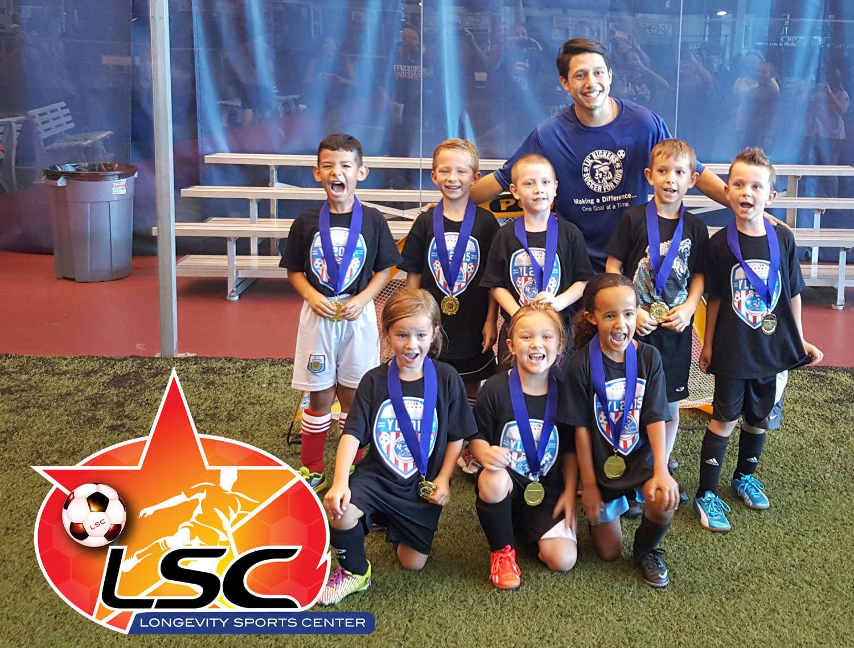 Longevity Indoor Soccer Youth Summer Champions 2015 Longevity